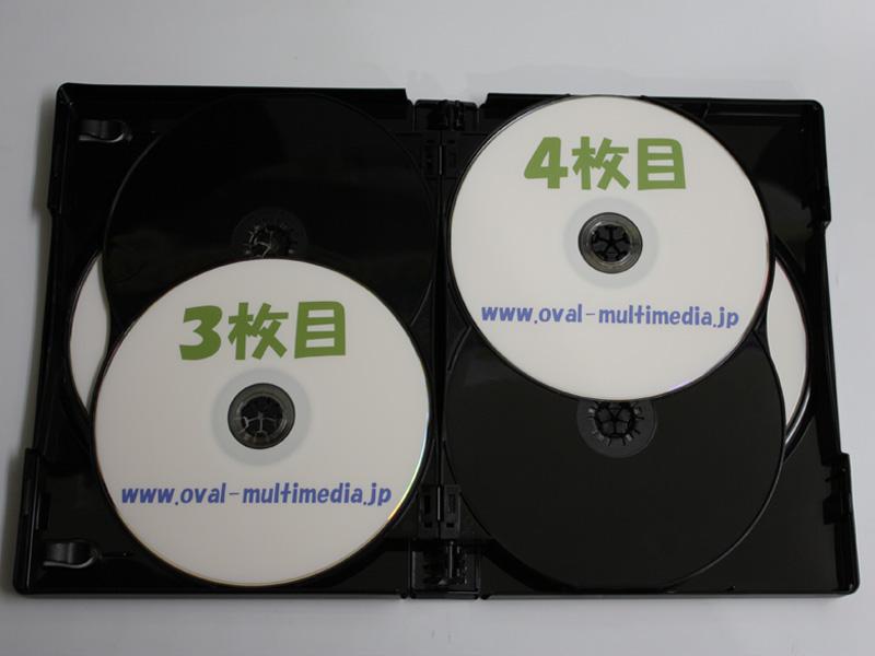 12枚収納CD/DVDケースブラック