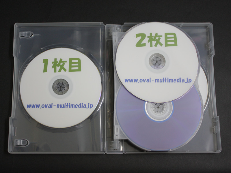 12枚収納CD/DVDケースクリア