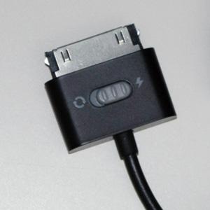 GALAXY Tabをパソコンで充電するケーブル