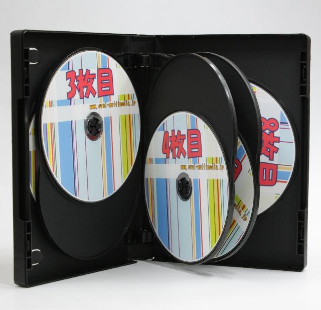 8枚収納DVD・BDケース