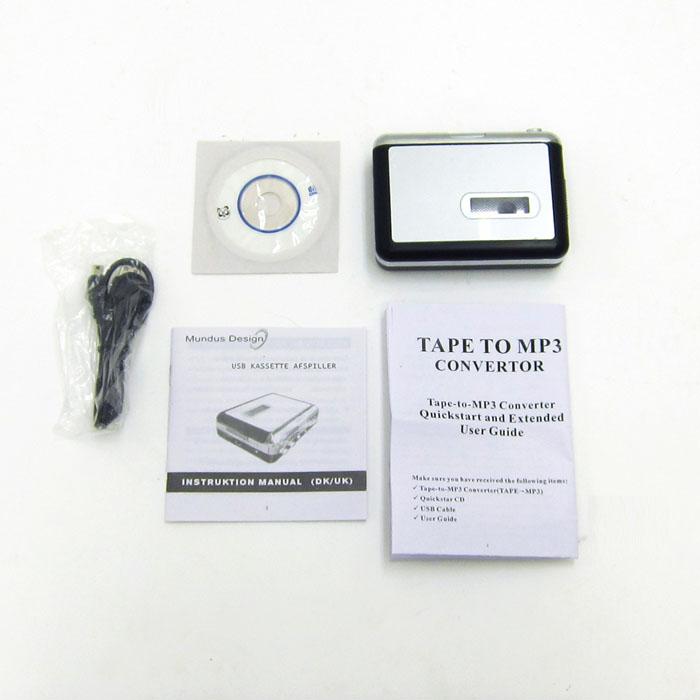 カセットテープをMP3に変換するプレーヤー